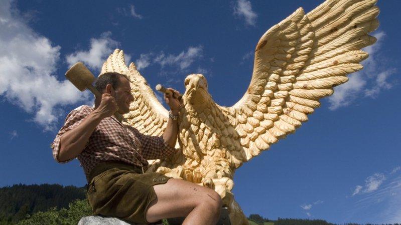 Trail of Senses - Golden Eagle, © Irene Ascher