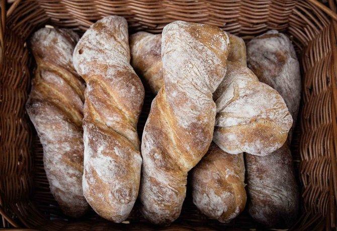 "The ""Lechzopf"" bread created by the Holzmayr bakery, © Tirol Werbung/Lisa Hörterer"