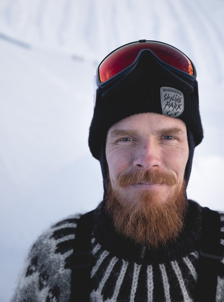 The friendly Icelander has been living in the Austrian Tirol for more than 20 years.