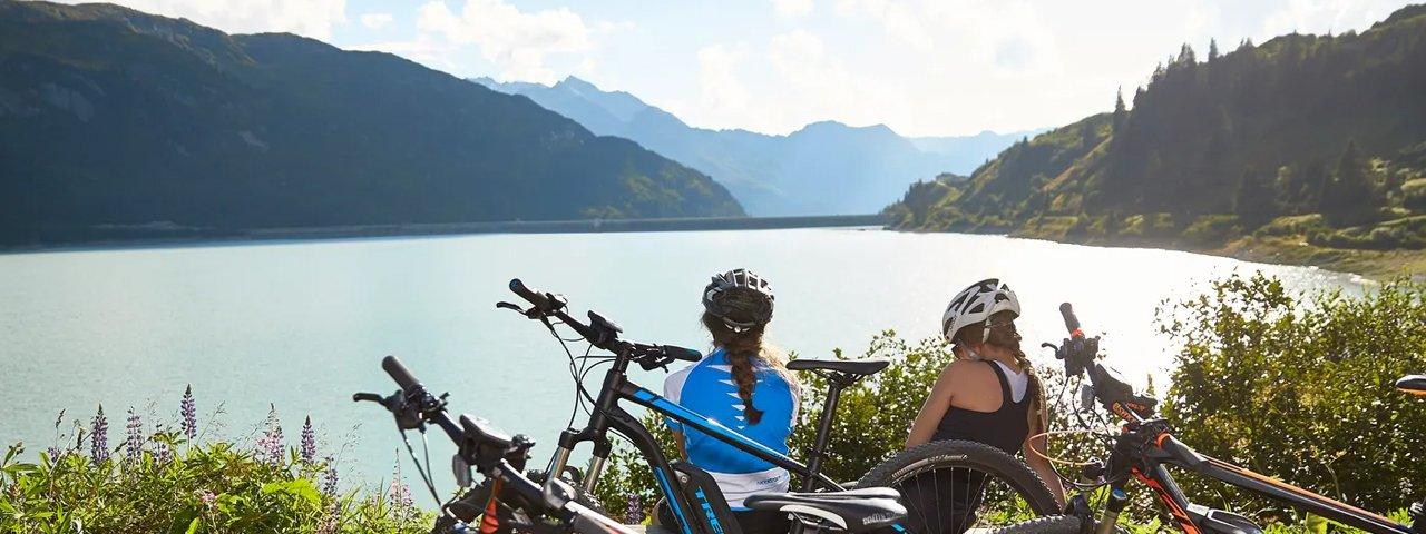 Zeinissee lake ride, © TVB Paznaun-Ischgl