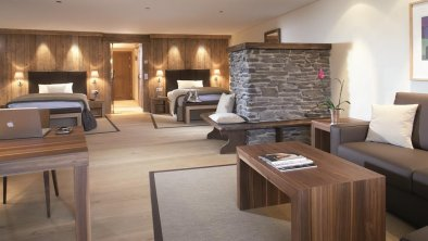 Lodge Deluxe Zimmer Twin, © Interalpen-Hotel Tyrol