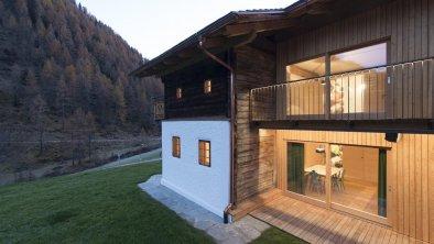Giatla Haus, Kalkstein, Foto Lukas Schaller