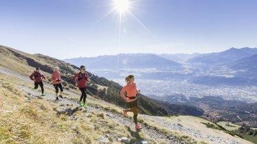 Trail Running high above Innsbruck, © TVB Innsbruck/Andreas Amplatz