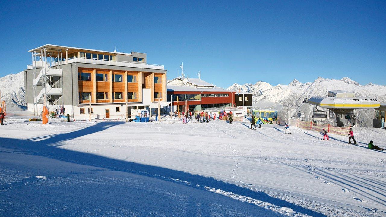 Venet Gipfelhütte, © Bergbahnen Venet