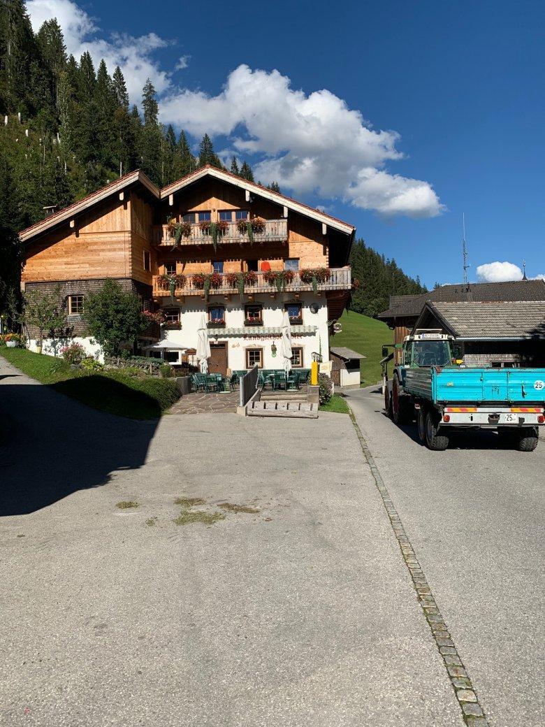 The Landgasthof Adler. Photo: Eckard Speckbacher.