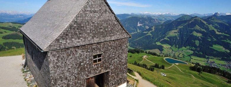 Salven Chapel on the peak of the Hohen Salve (Photo: Hannes Dabernig)