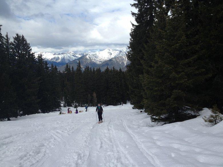 Skitour to Birgitzer Alm
