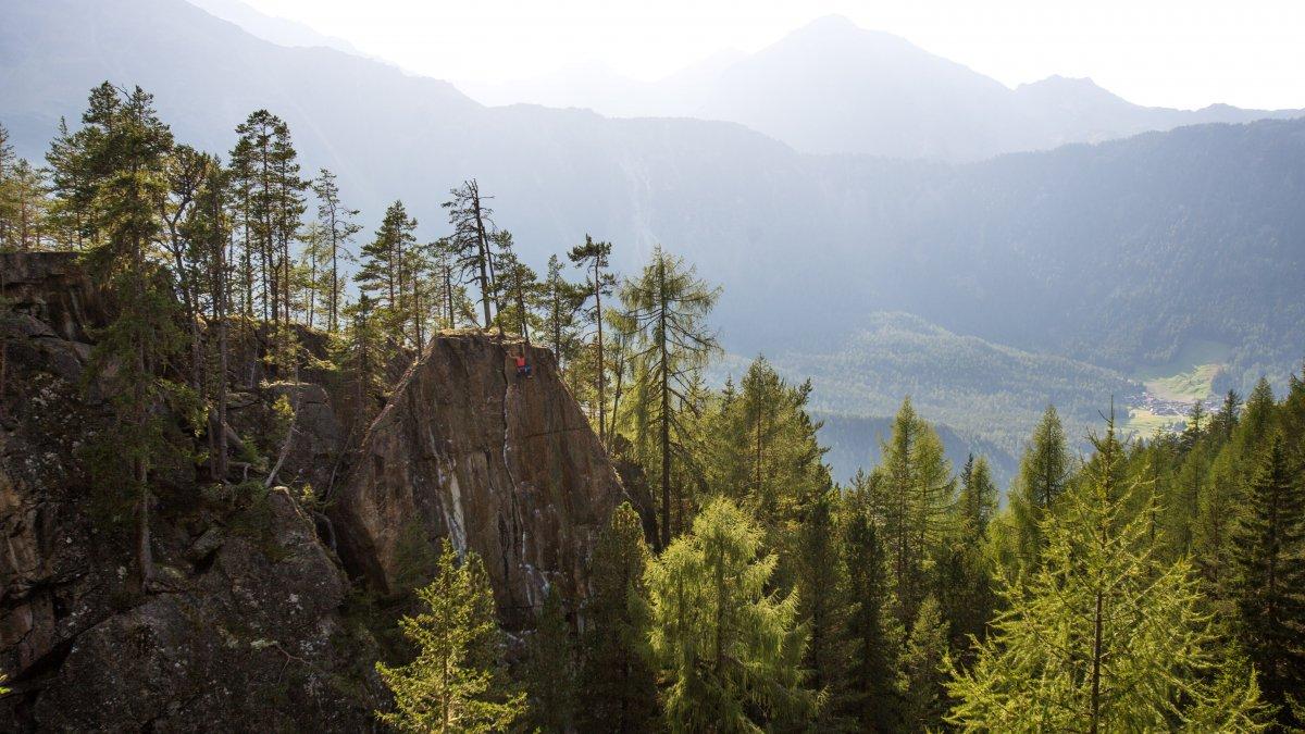 Climbing area in Niederthai, © Alpsolut