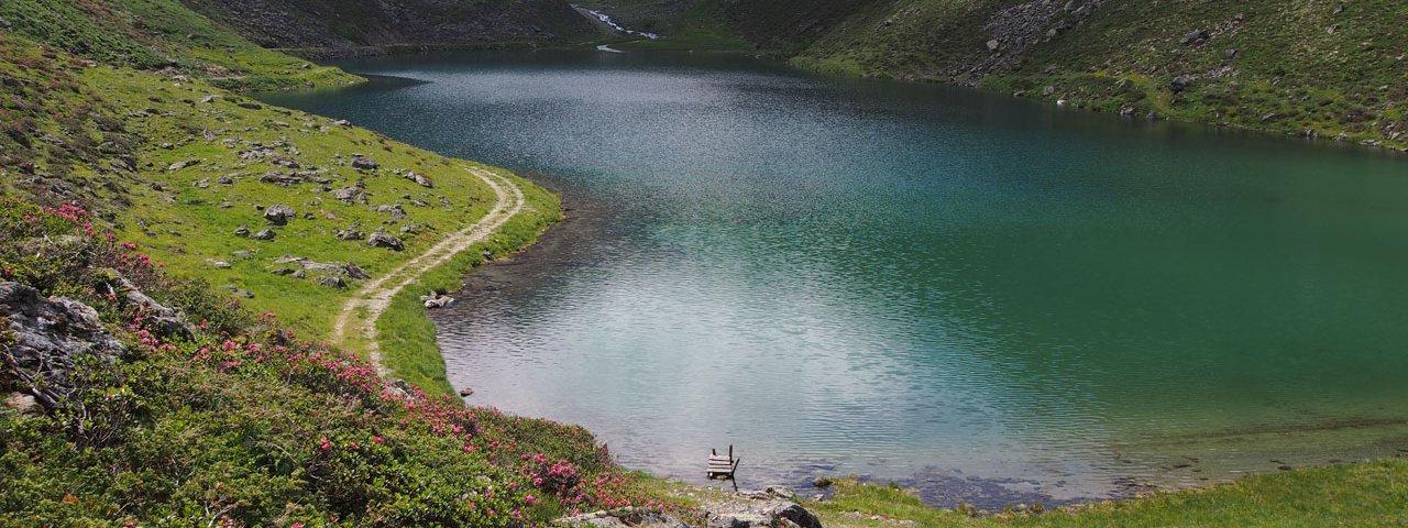 Grübelesee lake, © TVB Paznaun - Ischgl