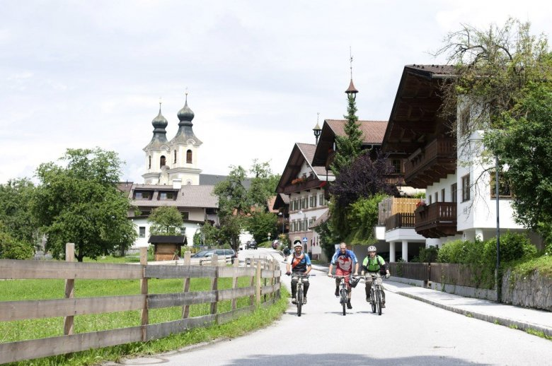 There is plenty of good accommodation for mountainbikers in Kirchberg , © Tirol Werbung, Michael Werlberger