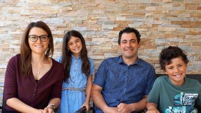 Familie Rohner, © Hotel Olympia TIrol, Mösern