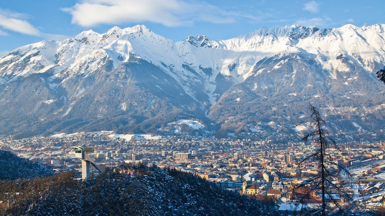 Innsbruck in winter, © Innsbruck Tourismus