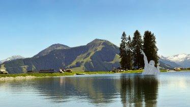 Lake Filzalmsee in Brixen im Thale, © Bergbahnen Brixen im Thale
