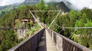 Benni Raich Suspension Footbridge, © TVB Pitztal