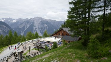 Zammer Alm hut, © Venet Bergbahnen AG