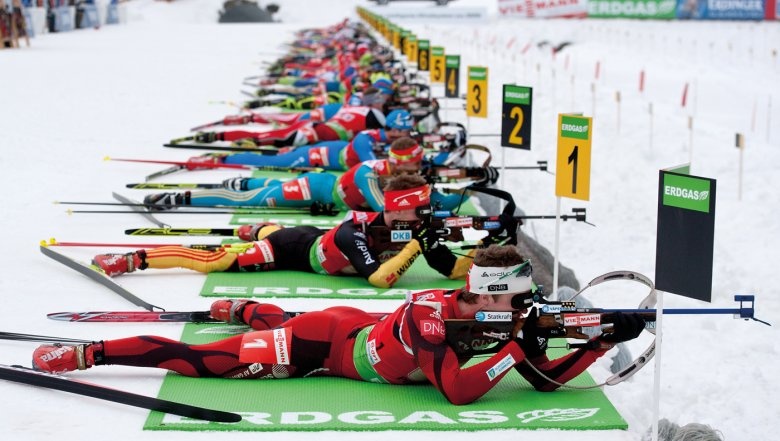 The Biathlon World Cup in Hochfilzen will showcase the world's ski best biathletes as they vie for their chance of glory. © TVB PillerseeTal
