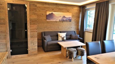 2-room suite 55m² with infrared sauna, © Marcel Sore