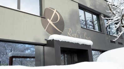 Hotel Rufí`s Eingang Winter
