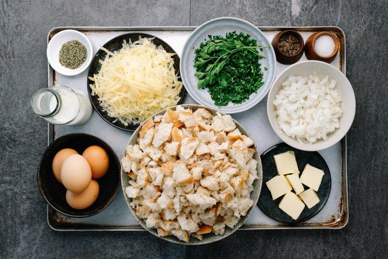 Kaspressknödel: Ingredients