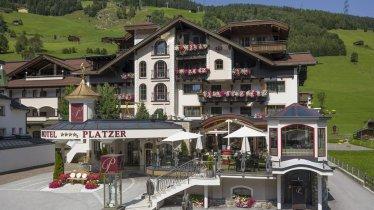 Hotel Platzer Aussenansicht, © Hannes Dabernig