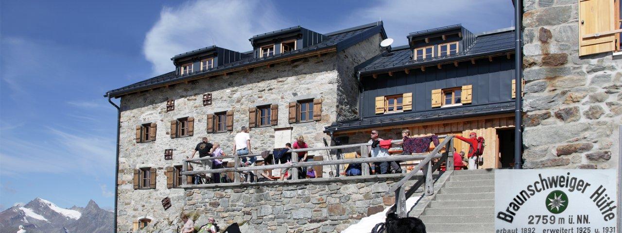 Braunschweiger Hut, © Braunschweiger Hütte