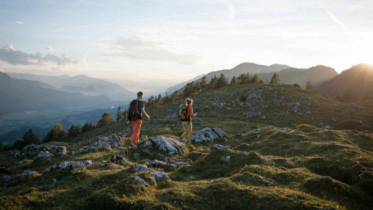 Eagle Walk stage in the Brandenberg Alps, © Tirol Werbung