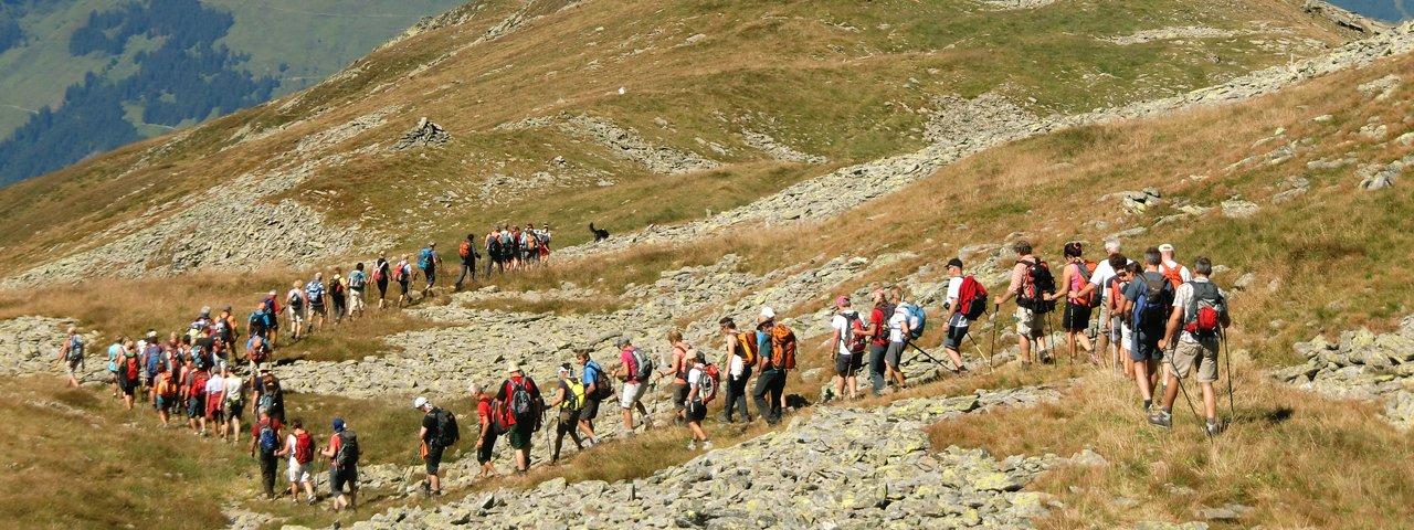The KitzAlpHike is a gorgeous 11-hour trek through the heart of the Kitzbühel Alps, © TVB Kitzbüheler Alpen - Brixental