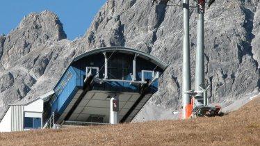 Top station of the Kapallbahn cable car, © R. Battisti