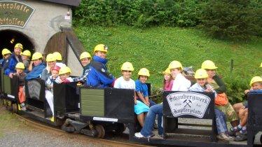 Kupferplatte Copper Mine, © Schaubergwerk Kupferplatte
