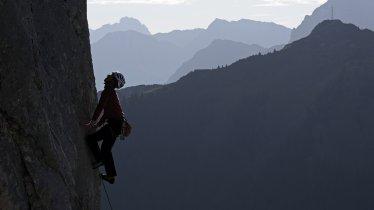 Rock climbing in the Tannheimer Tal Valley, © Wolfgang Ehn