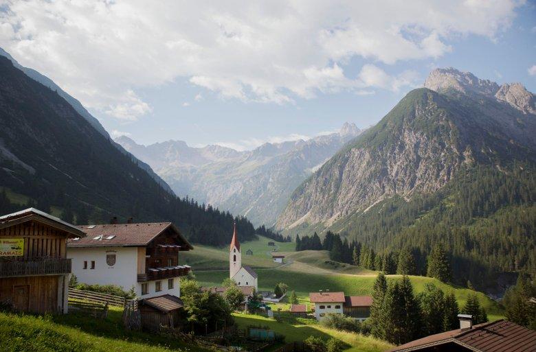 Gramais in the Lechtal Alps is the smallest municipality in Austria. , © Tirol Werbung, Bert Heinzlmeier