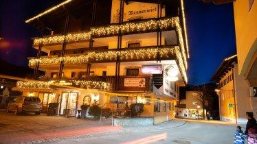 Winterbild Hotel Klein