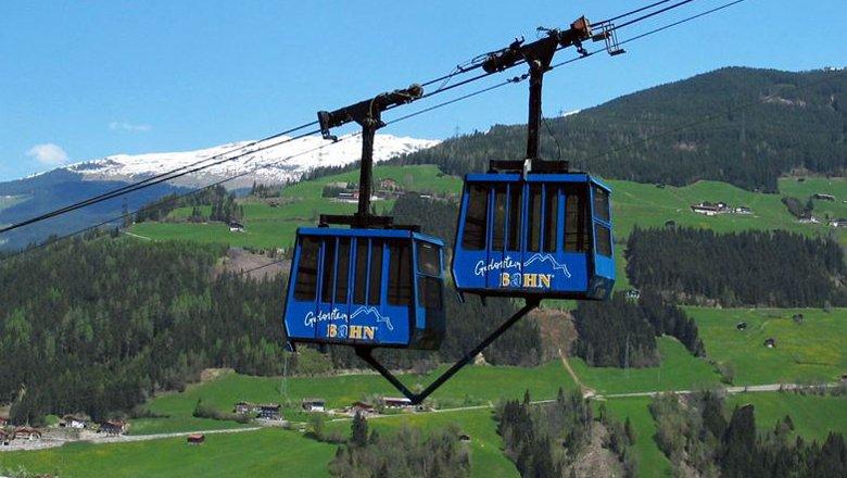 Gerlosssteinbahn cable car, © Zillertal Arena