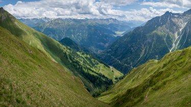 View from the top of the Muttakopf mountain, © Sebastian Höhn