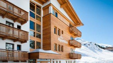 Winter nah Eingang, © Haus Alpenblick, Fam. Scheiber
