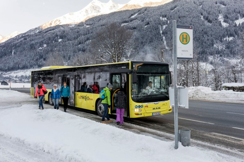 The regional public transport operator VVT serves Tirol's many valleys in both summer and winter.