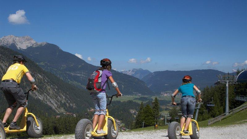 Mountaincarts, © Bergbahnen Langes Lermoos Biberwier