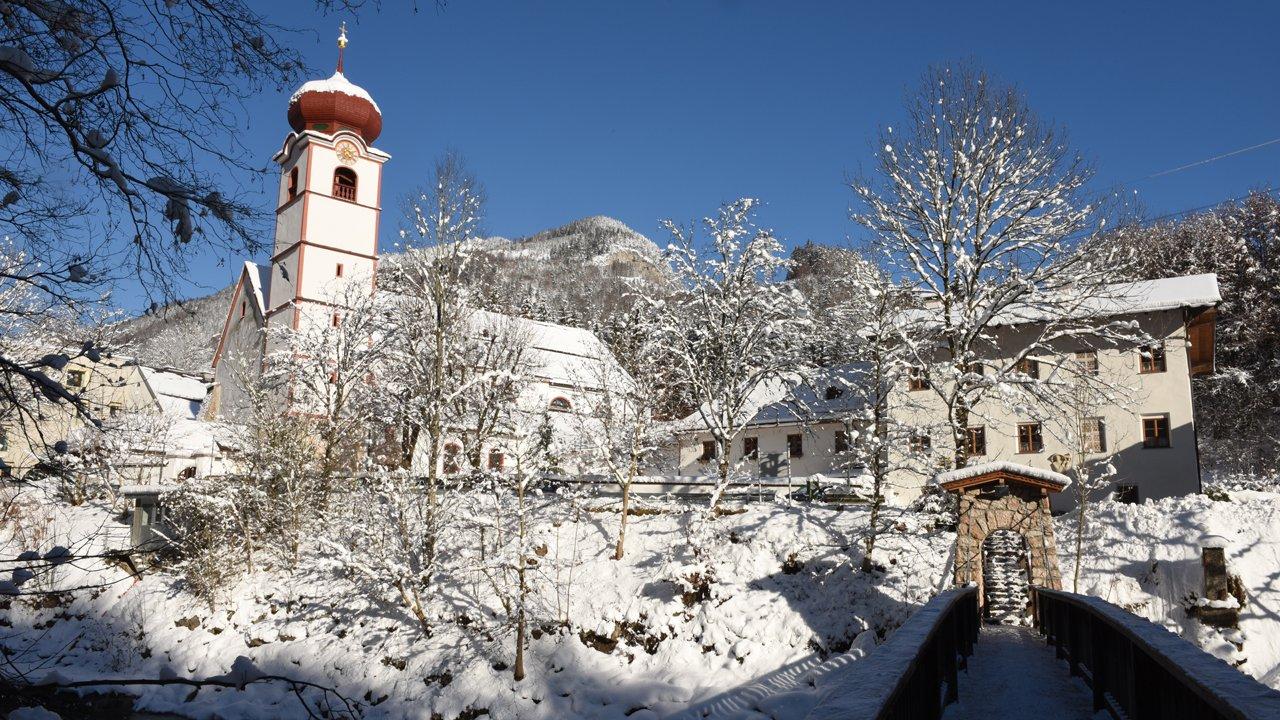 Kramsach in winter - Mariathal Basilika, © Alpbachtal Tourismus / B. Berger