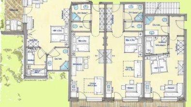 Raumplan, © Appartement & Camping Stadlerhof
