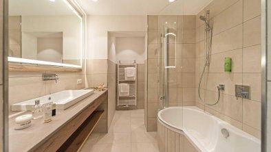 moderne Badezimmer, © Hotel Sonnenhof