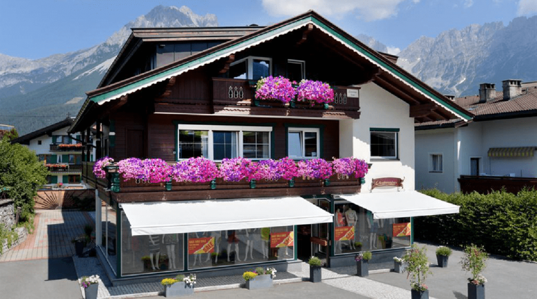 Hostel Alpking in Ellmau.