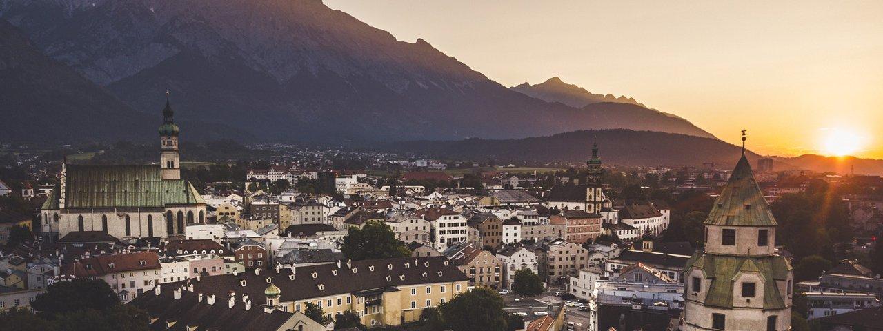 The medieval oldtown of Hall in Tirol, © TVB Wattens