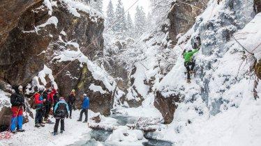 Ice climbing in the Pitztal Valley, © TVB Pitztal