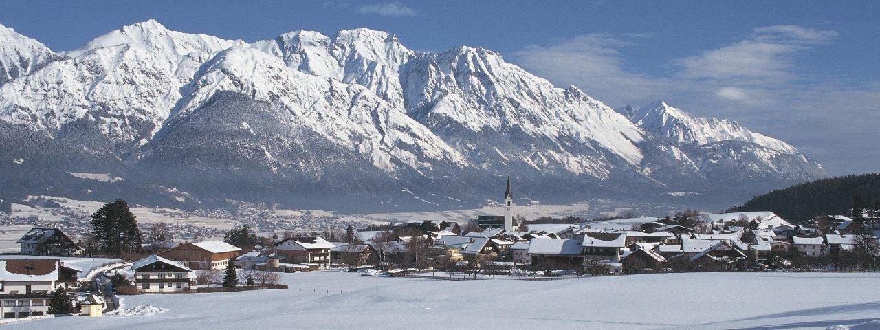 Aldrans in winter, © Innsbruck Tourismus/Irene Ascher
