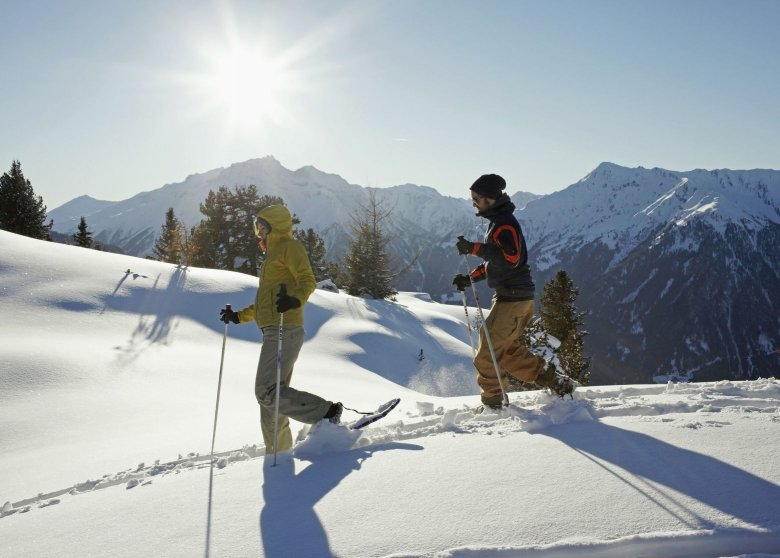 Snowshoeing allows you to access pristine, snow-covered scenery, where it tends to be quiet and peaceful.