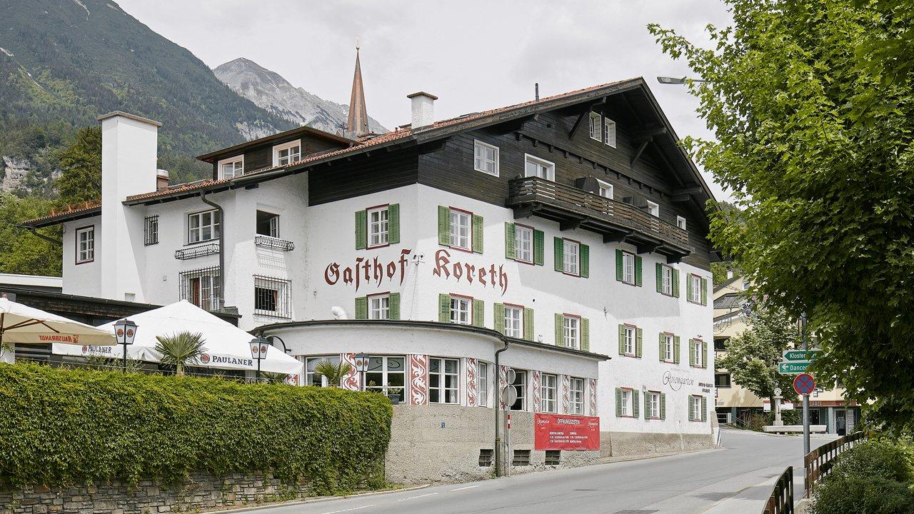 Gasthof Koreth in Mühlau, © David Schreyer