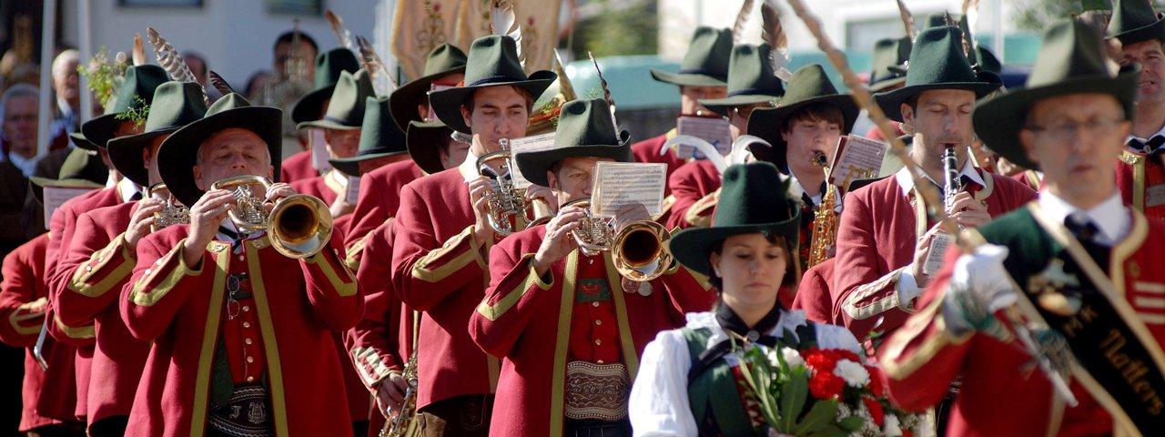 Tirolean Brass Band, © Tirol Werbung/Bernhard Aichner