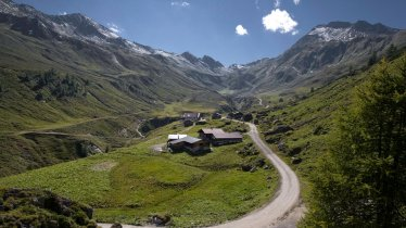 The dairy is located at the pretty Junsalm hut, © Tirol Werbung / Maren Krings