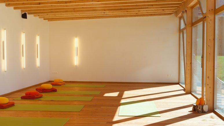 Yoga at Hotel aufatmen, © Hotel aufatmen