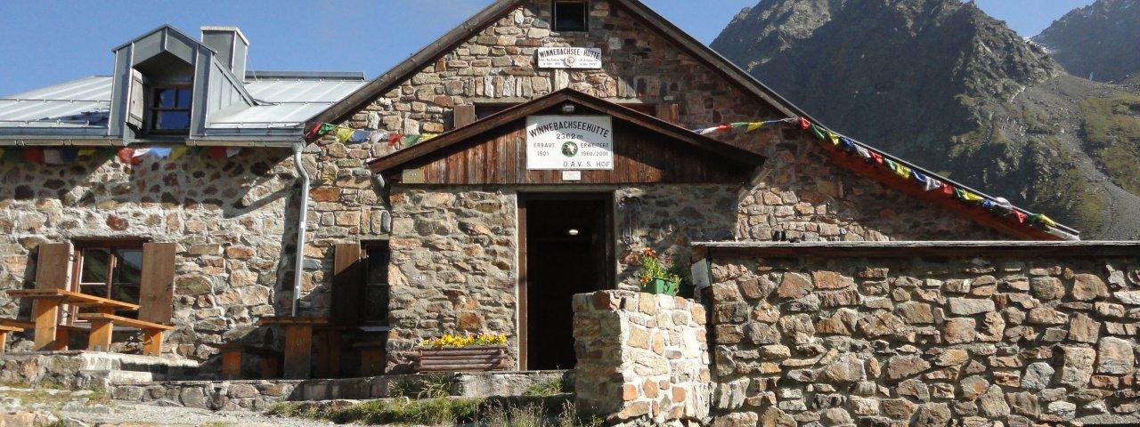 Winnebachseehütte, © Tirol Werbung/Ines MayerlTirol Werbung/Ines Mayerl